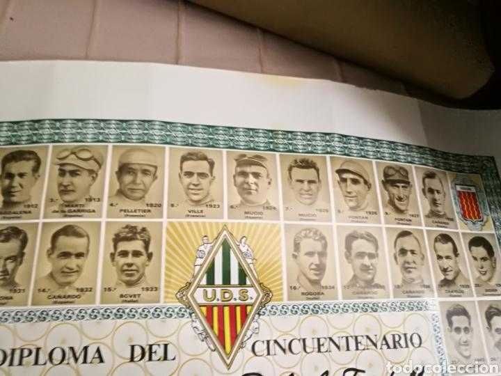 Coleccionismo deportivo: DIPLOMA CINCUENTENARIO UNION DEPORTIVA CICLISTA SANS 1971.Todos los campeones de la «Volta» ciclista - Foto 6 - 144009305