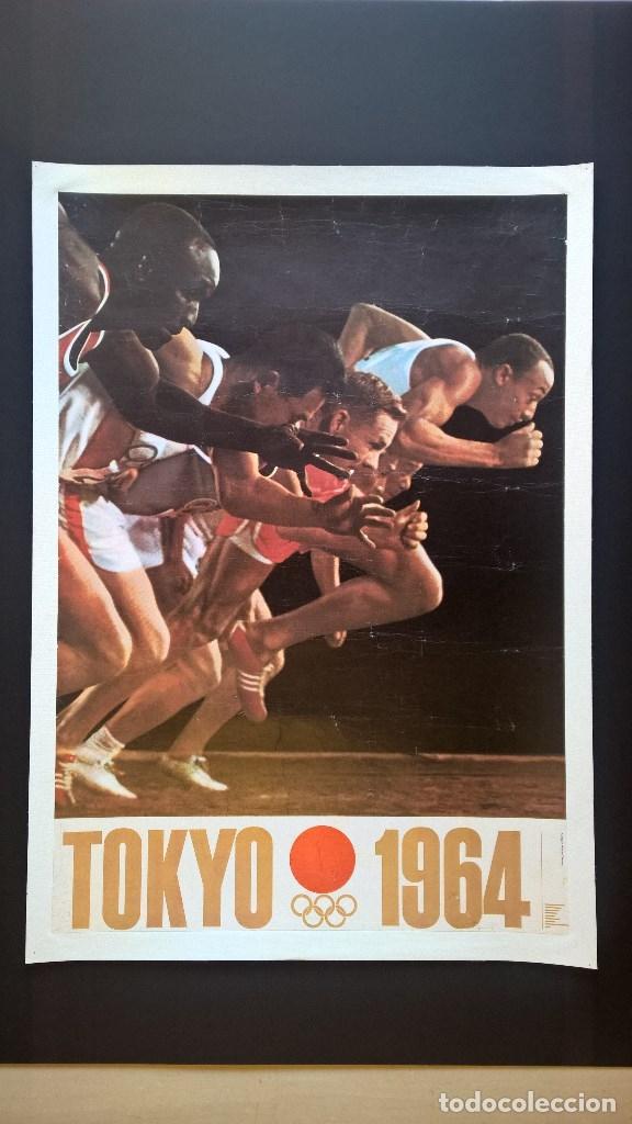YUSAKU KAMEKURA. POSTER. TOKYO 1964. TOKIO 1964. JUEGOS OLIMPICOS 1964. OLYMPIC GAMES 1964 (Coleccionismo Deportivo - Carteles otros Deportes)