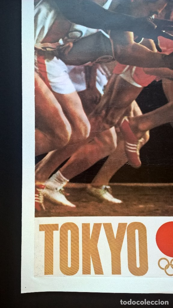 Coleccionismo deportivo: Yusaku Kamekura. Poster. Tokyo 1964. Tokio 1964. Juegos Olimpicos 1964. Olympic Games 1964 - Foto 4 - 146628666