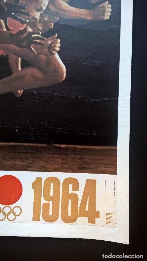 Coleccionismo deportivo: Yusaku Kamekura. Poster. Tokyo 1964. Tokio 1964. Juegos Olimpicos 1964. Olympic Games 1964 - Foto 5 - 146628666