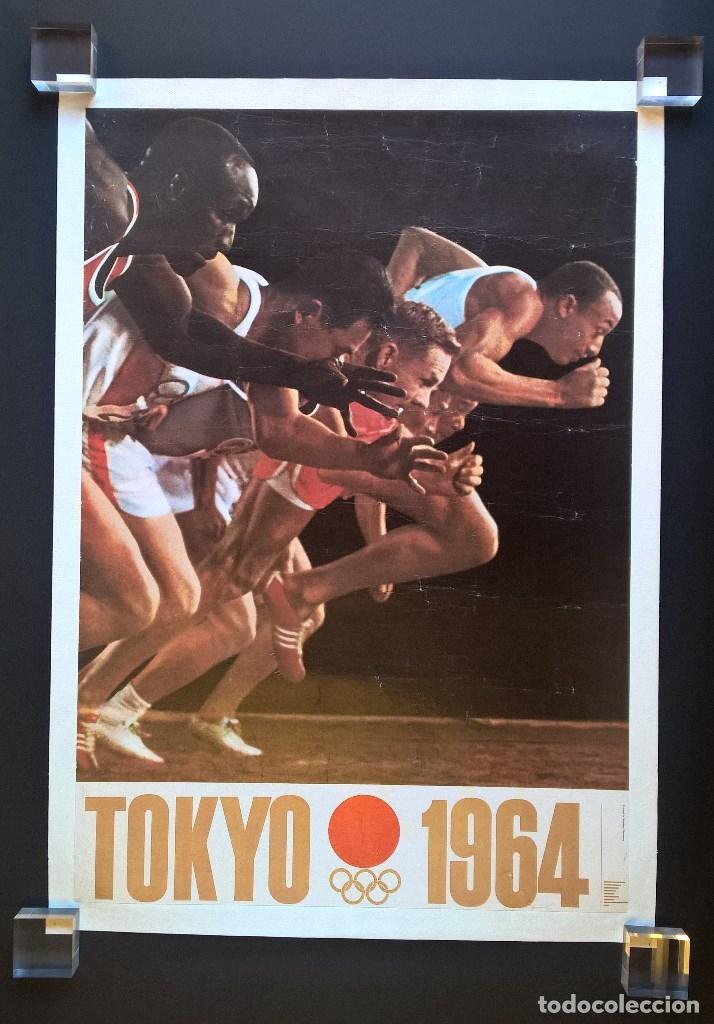 Coleccionismo deportivo: Yusaku Kamekura. Poster. Tokyo 1964. Tokio 1964. Juegos Olimpicos 1964. Olympic Games 1964 - Foto 11 - 146628666