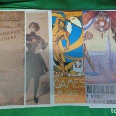 Coleccionismo deportivo: CARTELES OLÍMPICOS - LOTE DE 23. ( VER FOTOS). Lote 147541078