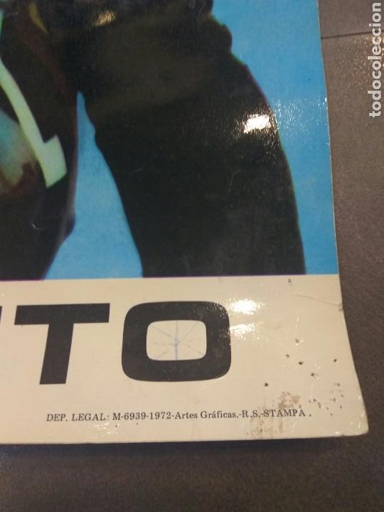 Coleccionismo deportivo: ÁNGEL NIETO POSTER OFICIAL-ORIGINAL DERBI AÑO 1972 67X47 CMS - Foto 2 - 149272565
