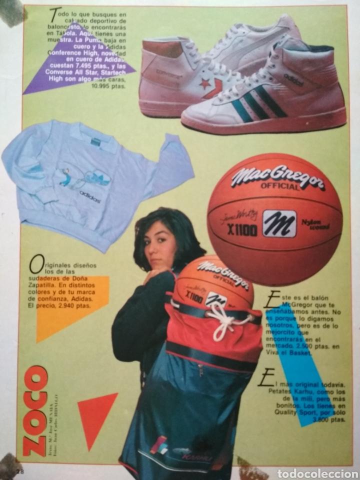 Coleccionismo deportivo: POSTER NBA REVISTA GIGANTES DEL BALONCESTO LOS ANGELES LAKERS KAREEM ABDUL-JABBAR - Foto 2 - 91582230