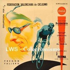 Coleccionismo deportivo: XIX VUELTA CICLISTA A LEVANTE 1960 - PUBLICIDAD IMÁGENES - DEPORTES - CICLISMO - BICICLETAS. Lote 149645114