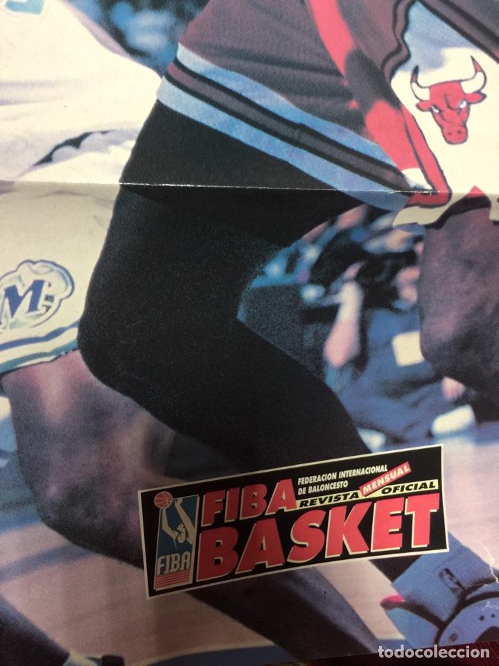 Coleccionismo deportivo: POSTER GRANDE KIDD FIBA BASKET NBA REVISTA MENSUAL MAVERICKS - Foto 2 - 150756709