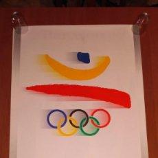 Coleccionismo deportivo: CARTEL OLIMPIADAS BARCELONA 1992. Lote 151114030