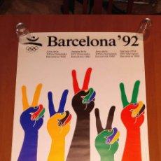 Coleccionismo deportivo: CARTEL OLIMPIADAS BARCELONA 1992. Lote 151115170