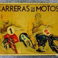 Coleccionismo deportivo: CARTEL CARRERAS EN MOTOS. ORIGINAL AÑOS 30. Lote 152309942