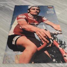 Coleccionismo deportivo: POSTER CICLISMO LUIS OCAÑA - AS COLOR 211 - GANADOR DEL TOUR DE FRANCIA 1973. Lote 152564422