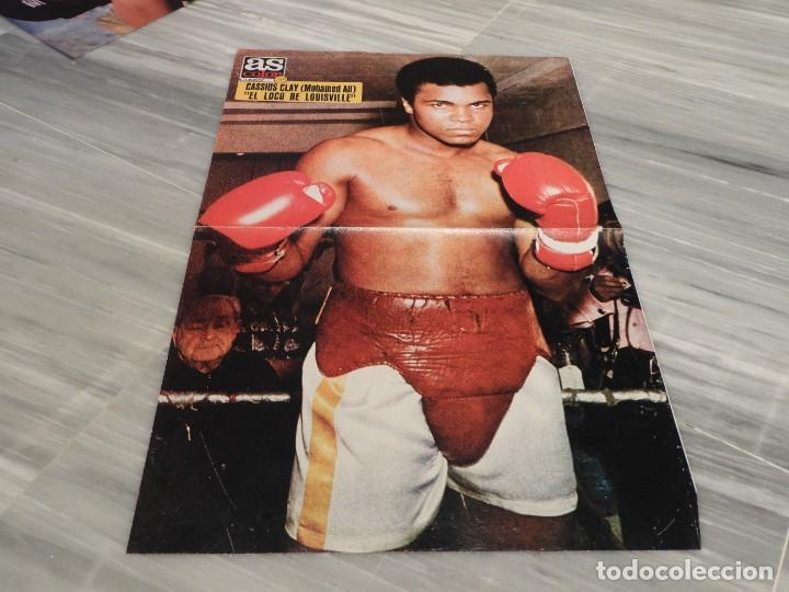 POSTER BOXEADOR MOHAMED ALI - CASSIUS CLAY - AS COLOR 26 (Coleccionismo Deportivo - Carteles otros Deportes)