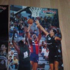 Coleccionismo deportivo: 3 POSTERS BALONCESTO AUDIE NORRIS, ALBERTO HERREROS Y REGGIE LEWIS DE GIGANTES DEL BASKET. Lote 153626614