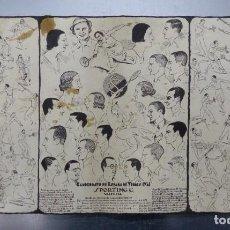 Coleccionismo deportivo: CAMPEONATO DE ESPAÑA DE TENIS - SPORTING C. VALENCIA - AÑO 1934 - ILUSTRADOR: TORMO. Lote 154628438