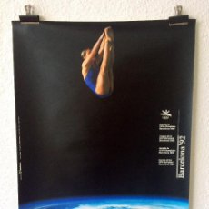 Coleccionismo deportivo: CARTEL BARCELONA 92 JUEGOS OLÍMPICOS 1990. Lote 155566194