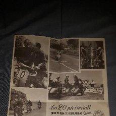 Coleccionismo deportivo: CARTEL VESPA. LAS 20 PROVINCIAS. 1959. Lote 157915262