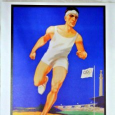 Coleccionismo deportivo: CARTEL JUEGOS OLÍMPICOS AMSTERDAM 1928, EDICIÓN ESPECIAL 29.8 X 21 CMS. Lote 159595406
