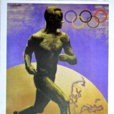 Coleccionismo deportivo: CARTEL JUEGOS OLÍMPICOS FINLANDIA 1952, EDICIÓN ESPECIAL 29.8 X 21 CMS. Lote 159595466