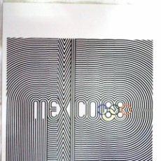 Coleccionismo deportivo: CARTEL JUEGOS OLÍMPICOS MEXICO 1968, EDICIÓN ESPECIAL 29.8 X 21 CMS. Lote 159595554