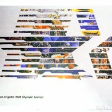 Coleccionismo deportivo: CARTEL JUEGOS OLÍMPICOS LOS ANGELES 1984, EDICIÓN ESPECIAL 29.8 X 21 CMS. Lote 159595682
