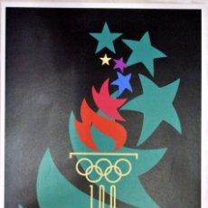 Coleccionismo deportivo: CARTEL JUEGOS OLÍMPICOS ATLANTA 1996, EDICIÓN ESPECIAL 29.8 X 21 CMS. Lote 159595734