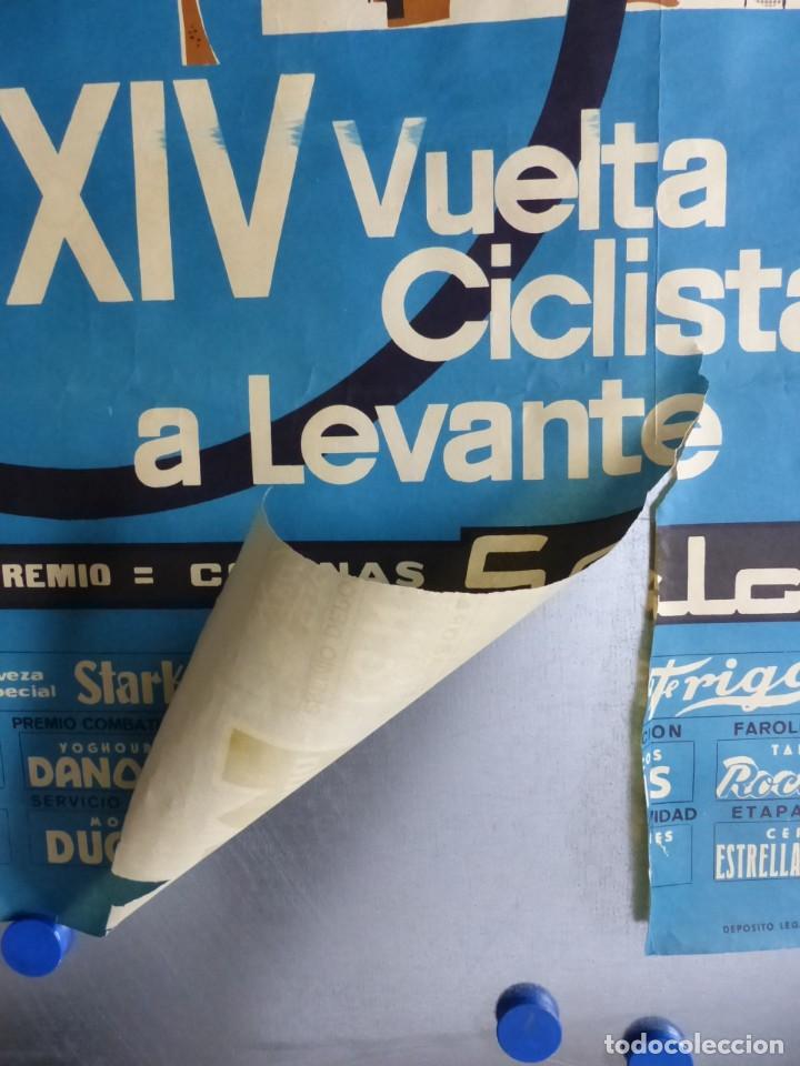Coleccionismo deportivo: XXIV VUELTA CICLISTA A LEVANTE, GRAN PREMIO COCINAS SADA, MARZO DE 1965 - Foto 7 - 165161606
