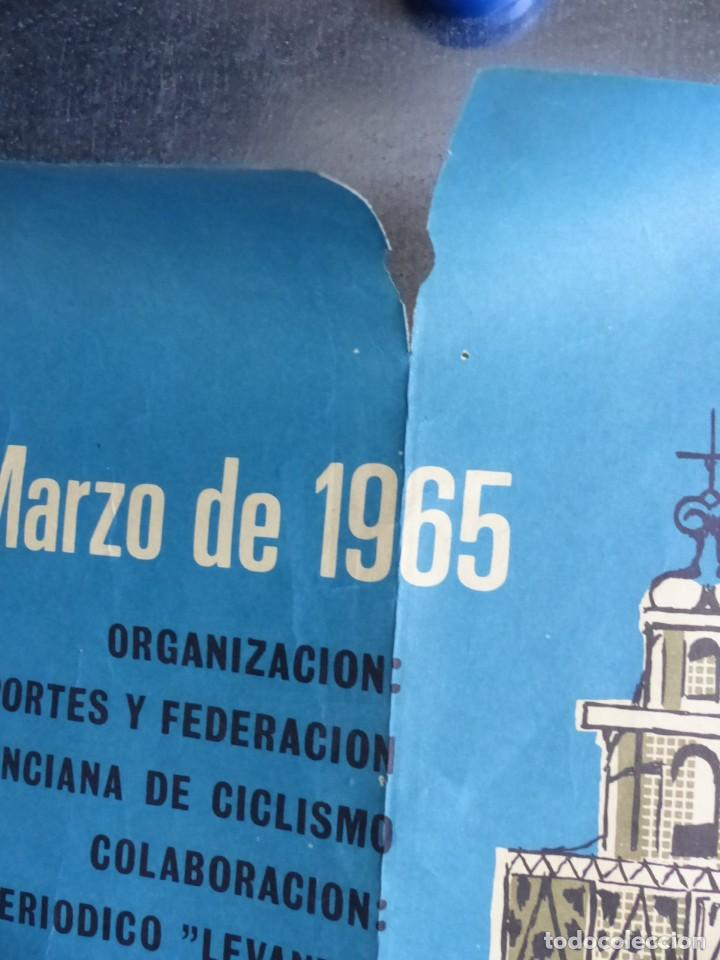 Coleccionismo deportivo: XXIV VUELTA CICLISTA A LEVANTE, GRAN PREMIO COCINAS SADA, MARZO DE 1965 - Foto 8 - 165161606