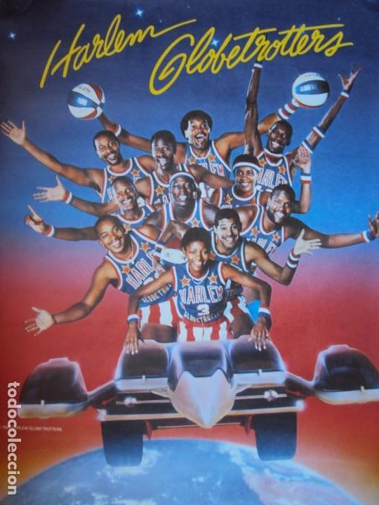 Coleccionismo deportivo: (F-190599)CARTEL DE LOS Harlem Globetrotters 1989 - Foto 2 - 165301122