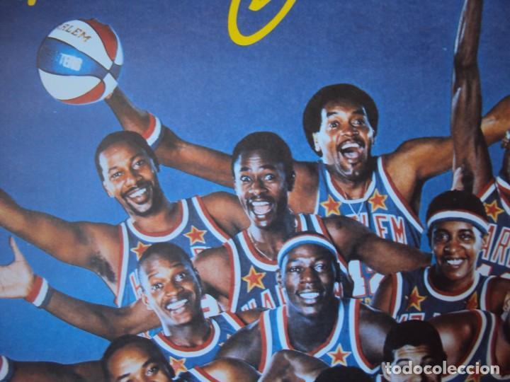 Coleccionismo deportivo: (F-190599)CARTEL DE LOS Harlem Globetrotters 1989 - Foto 3 - 165301122