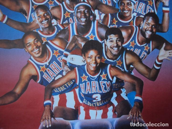 Coleccionismo deportivo: (F-190599)CARTEL DE LOS Harlem Globetrotters 1989 - Foto 5 - 165301122