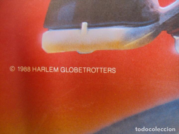 Coleccionismo deportivo: (F-190599)CARTEL DE LOS Harlem Globetrotters 1989 - Foto 7 - 165301122