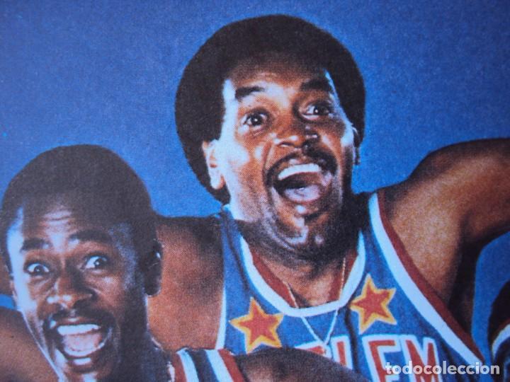 Coleccionismo deportivo: (F-190599)CARTEL DE LOS Harlem Globetrotters 1989 - Foto 9 - 165301122