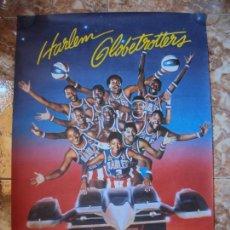 Coleccionismo deportivo: (F-190599)CARTEL DE LOS HARLEM GLOBETROTTERS 1989. Lote 165301122