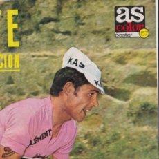 Coleccionismo deportivo: CICLISMO: PÓSTER DE JOSÉ MANUEL FUENTE, EL TARANGU. Lote 166715590