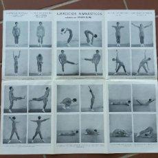 Colecionismo desportivo: EJERCICIOS GIMNASTICOS JOAQUIN BLUME. Lote 168627592