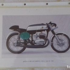 Coleccionismo deportivo: LAMINA HOJA DEL CALENDARIO MOTOS BULTACO MODELO METRALLA 250 MK2 KIT AMERICA 1968. Lote 171407163