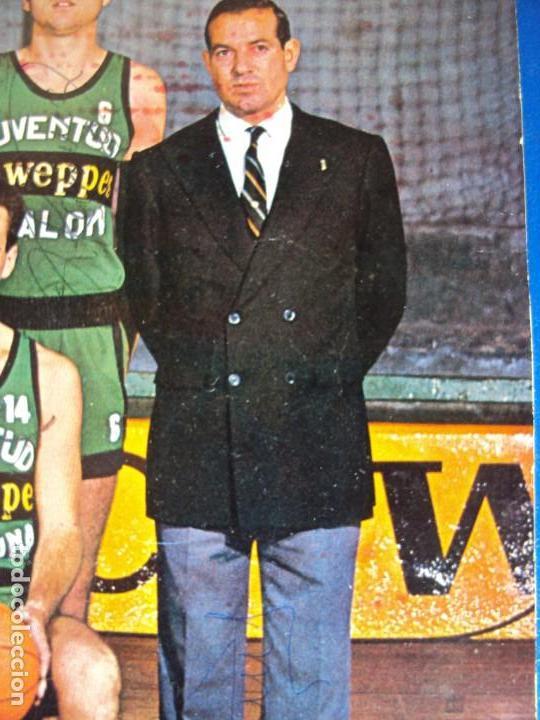 Coleccionismo deportivo: (F-190778)POSTER DEL JOVENTUT DE BADALONA AÑOS 70 AUTOGRAFOS ORIGINALES,BUSCATO,MARGALL,ETC. - Foto 8 - 171490455