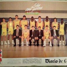 Coleccionismo deportivo: PÓSTER C.B. LEÓN ELOSÚA. TEMPORADA 92-93. . Lote 171975933