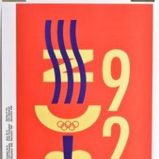 Coleccionismo deportivo: CARTEL ORIGINAL OLIMPIADAS BARCELONA 92 - QUIM NOLLA - 50X70. Lote 173127857