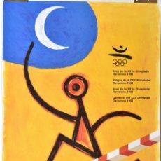Coleccionismo deportivo: CARTEL ORIGINAL OLIMPIADAS BARCELONA 92 - PERET - 50X70. Lote 173129265