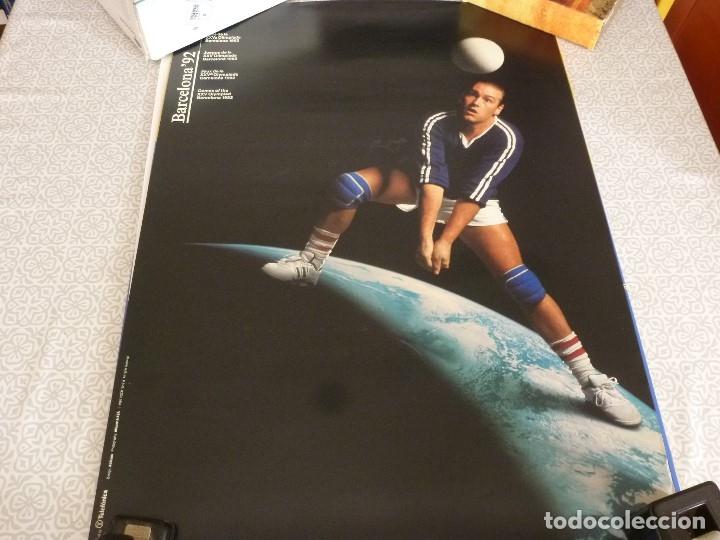 CARTEL-POSTER ORIGINAL (50 X 70) OLIMPIADAS BARCELONA-1992. (Coleccionismo Deportivo - Carteles otros Deportes)