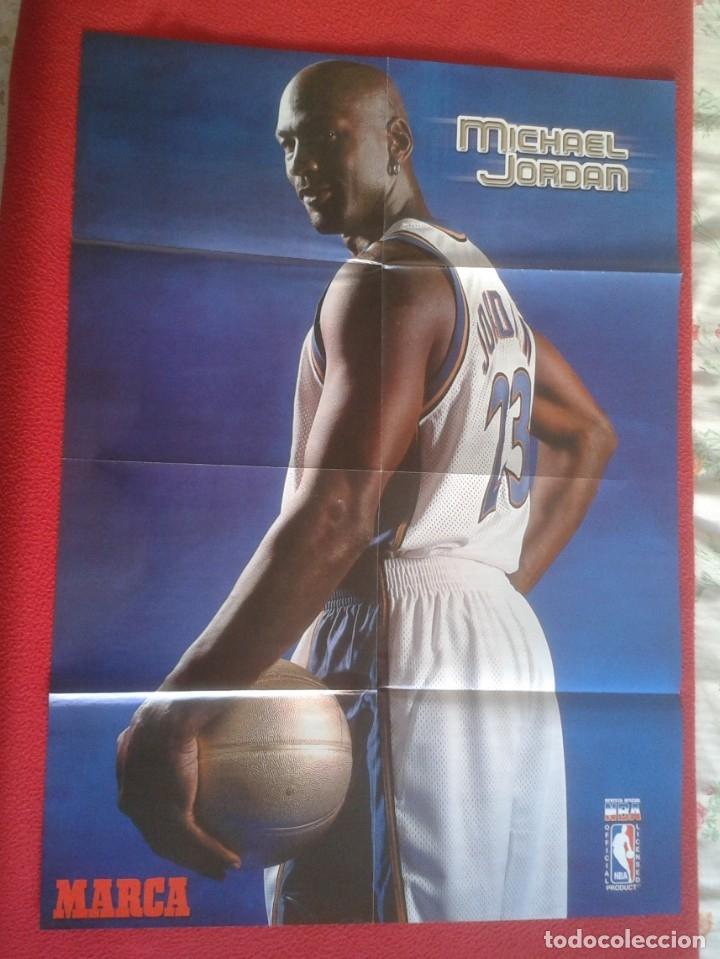 POSTER CARTEL DE BALONCESTO BASKETALL BASKET BALL PAU GASOL MICHAEL JORDAN MEMPHIS GRIZZLIES NBA USA (Coleccionismo Deportivo - Carteles otros Deportes)