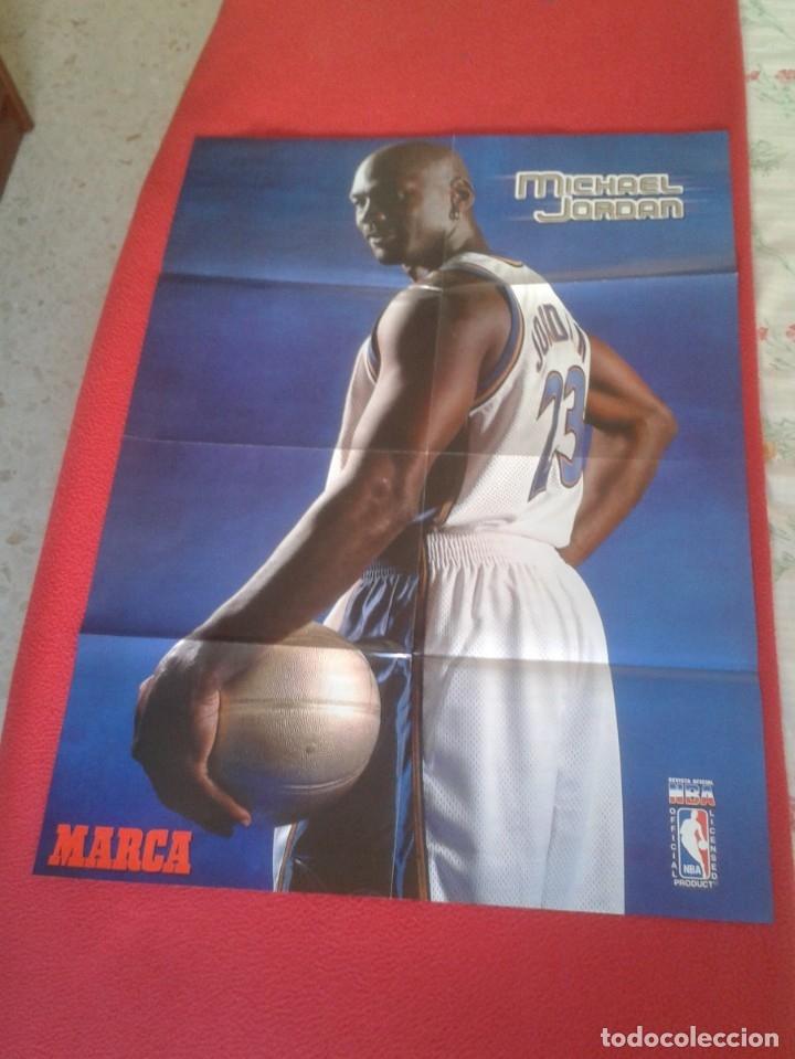 Coleccionismo deportivo: POSTER CARTEL DE BALONCESTO BASKETALL BASKET BALL PAU GASOL MICHAEL JORDAN Memphis Grizzlies NBA USA - Foto 2 - 175317444