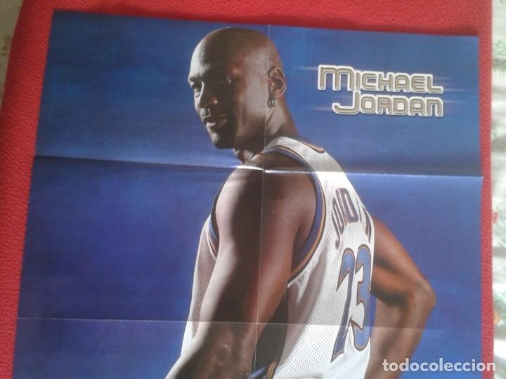 Coleccionismo deportivo: POSTER CARTEL DE BALONCESTO BASKETALL BASKET BALL PAU GASOL MICHAEL JORDAN Memphis Grizzlies NBA USA - Foto 3 - 175317444