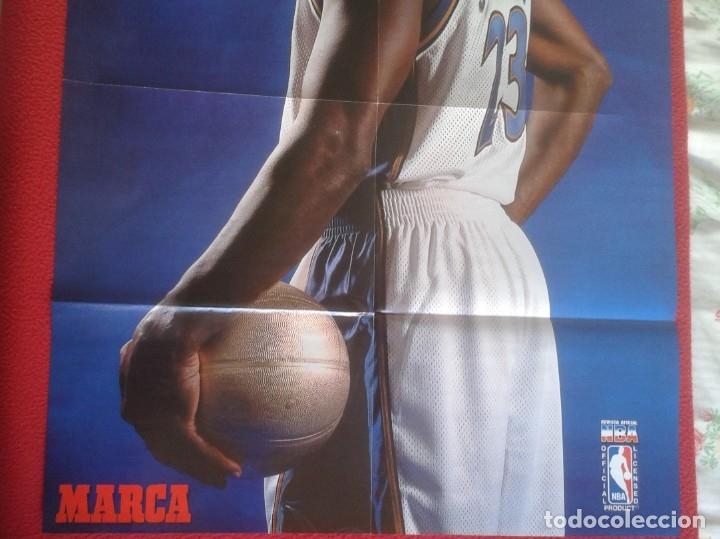 Coleccionismo deportivo: POSTER CARTEL DE BALONCESTO BASKETALL BASKET BALL PAU GASOL MICHAEL JORDAN Memphis Grizzlies NBA USA - Foto 4 - 175317444
