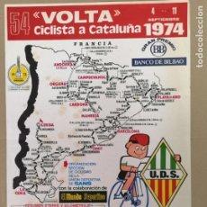Coleccionismo deportivo: 54 VOLTA CICLISTA A CATALUÑA 1974. Lote 175867308