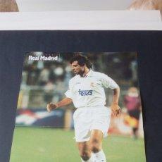 Coleccionismo deportivo: PÓSTER ESNAIDER REAL MADRID CLUB DE FÚTBOL LIGA . Lote 176190754