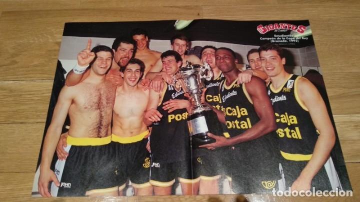 POSTER ESTUDIANTES CAMPEÓN COPA DEL REY DE GRANADA 1992 (Coleccionismo Deportivo - Carteles otros Deportes)