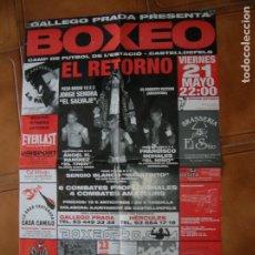 Coleccionismo deportivo: POSTER DE BOXEO AÑOS 90 ,MIDE ,70 X 43. Lote 177256755