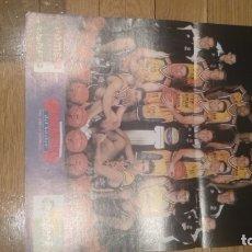 Coleccionismo deportivo: POSTER PAMESA VALENCIA 2001-2002. Lote 177369135