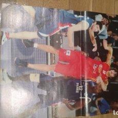 Coleccionismo deportivo: DOBLE POSTER RICKY RUBIO (EUROPEO JUNIOR 07) Y RUDY FERNANDEZ. SELECCIÓN ESPAÑOLA DE BALONCESTO. Lote 177369430
